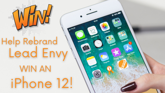 If we choose your name, you win an iPhone 12 and a donation of $1,000 to a charity of your choice